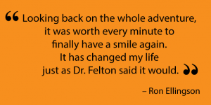 Testimonial from a Missoula dental implant patient.