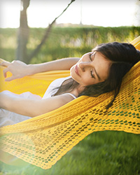 Relaxed patient thanks to sedation dentistry options such as conscious sedation.