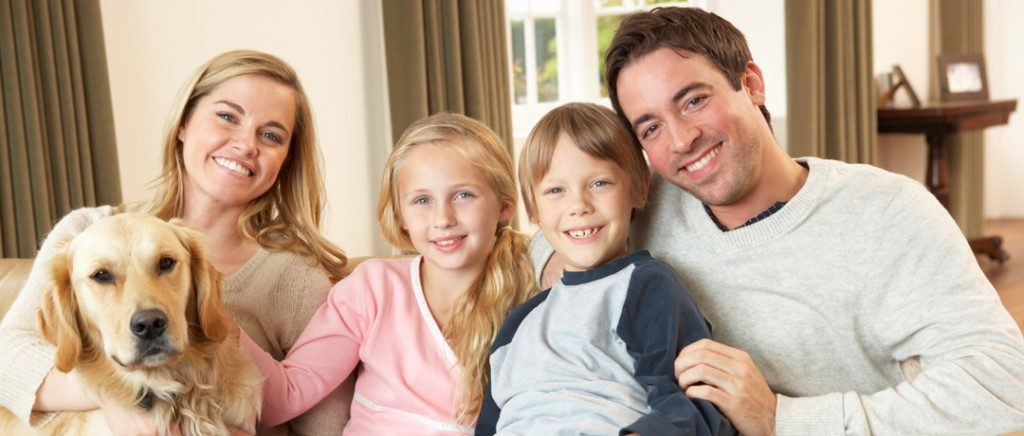 Happy familyrom sees Missoula dentist Dr. Felton for their general and family dentistry needs.